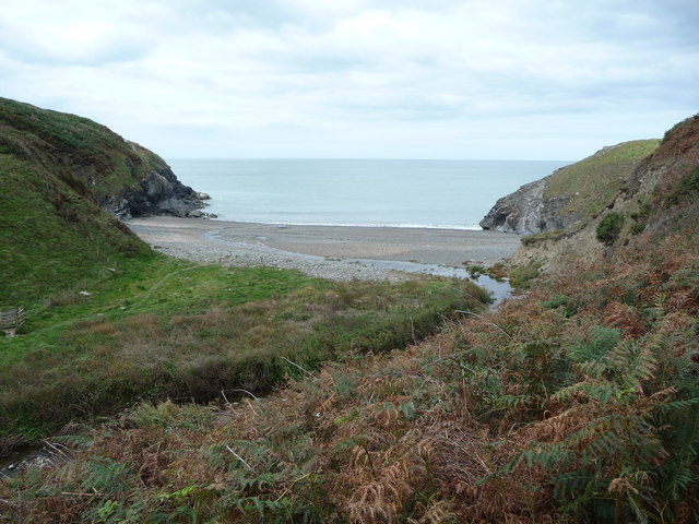 Beautiful cove at the end of Cwm Soden