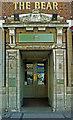 "TQ1885 : Entrance, ""The Bear"" public house, Wembley by Julian Osley"