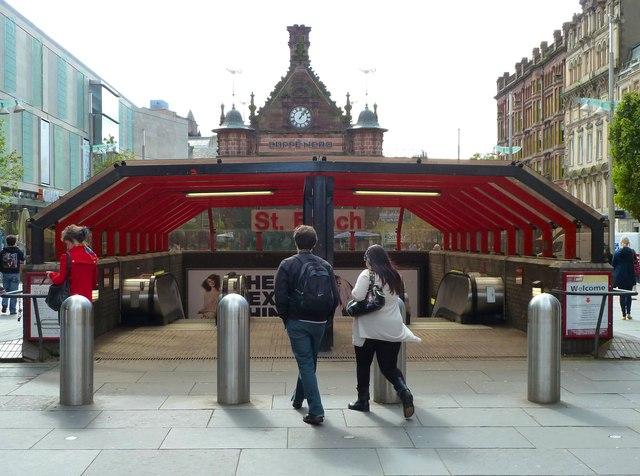 St Enoch Underground Station