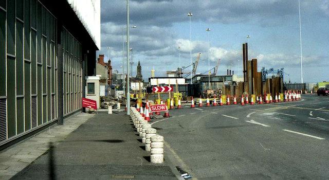 Weir and cross-harbour bridges, Belfast (38)