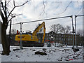 SE1532 : Demolition of disused buildings at St Luke's Hospital, Bradford by Phil Champion