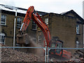 SE1531 : Demolition of disused buildings at St Luke's Hospital, Bradford by Phil Champion