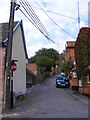 TM2649 : Queens Head Lane, Woodbridge by Adrian Cable
