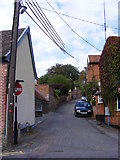 TM2649 : Queens Head Lane, Woodbridge by Geographer