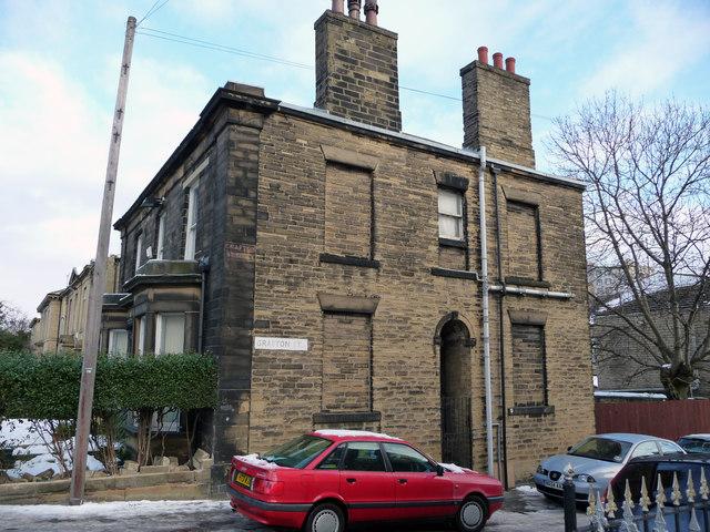 Victorian detached house at the corner of Little Horton Lane and Grafton Street, Little Horton