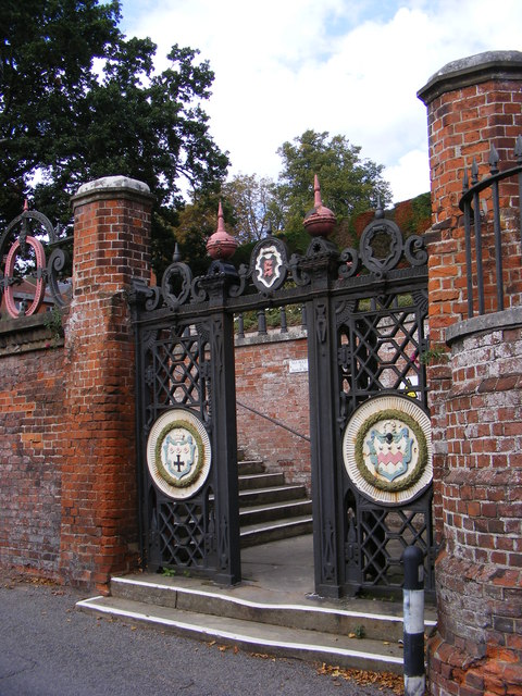 The Gates to Seckford Hospital