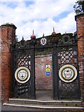 TM2649 : The Gates to Seckford Hospital by Geographer