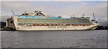 "J3576 : The ""Emerald Princess"", Belfast by Albert Bridge"