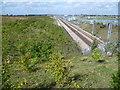 TQ6670 : Channel Tunnel Rail Link Maintenance Works by Marathon