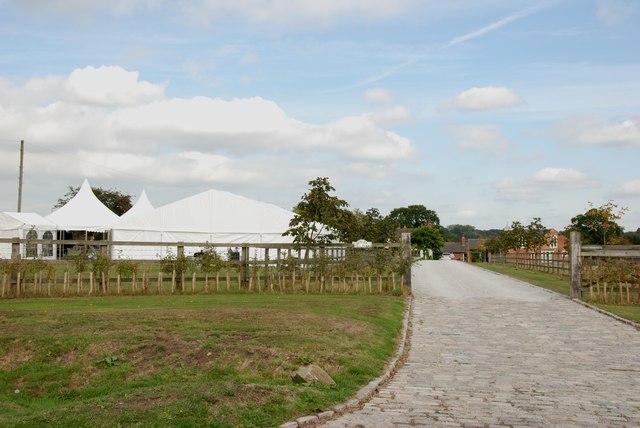 Entrance to Gorsey Hill Farm, Barton-under-Needwood