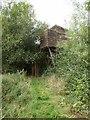 SJ2000 : Bird hide at Dolydd Hafren by Oliver Dixon