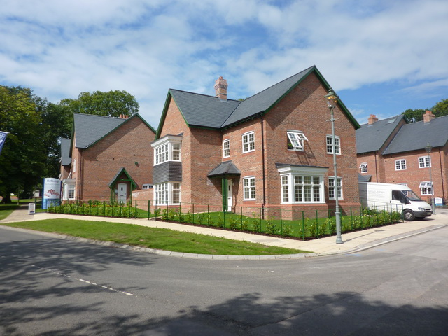 New houses on The Wynd, Wynyard Village