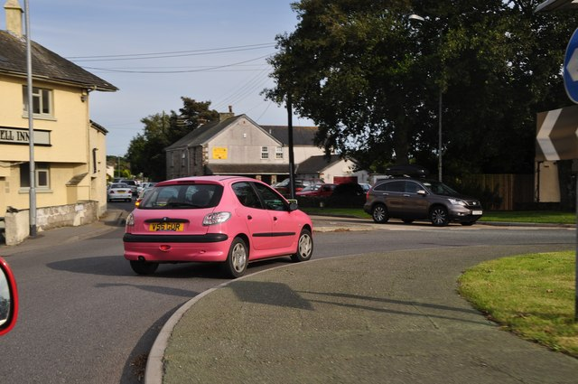 Quintrell Downs : A3058 Roundabout