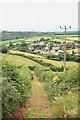 SX8977 : Towerhill Lane by Hugh Craddock