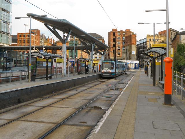 Shudehill Tram Station