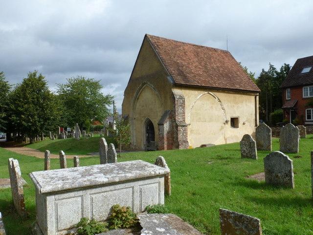 Stockbridge: Old St. Peter's church