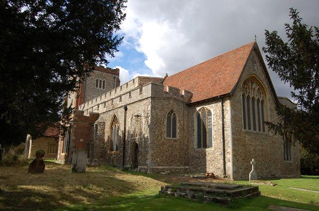 All Saints' Church, Writtle
