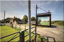 TF4571 : Claxby St Andrews Entrance to Claxby Lodge by JOHN BLAKESTON