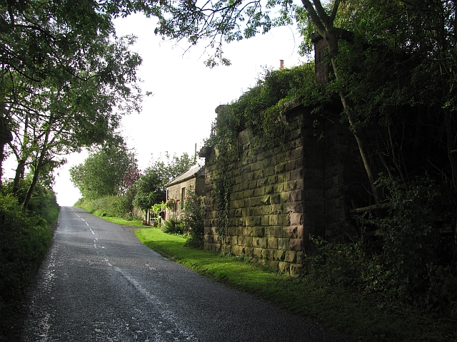 Kelso Branch Railway, Norham Station