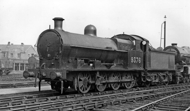 LNW 0-8-0 at Crewe Works fresh from repair