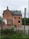 SJ9922 : Old canal building near Great Haywood Junction, Staffordshire by Roger  Kidd