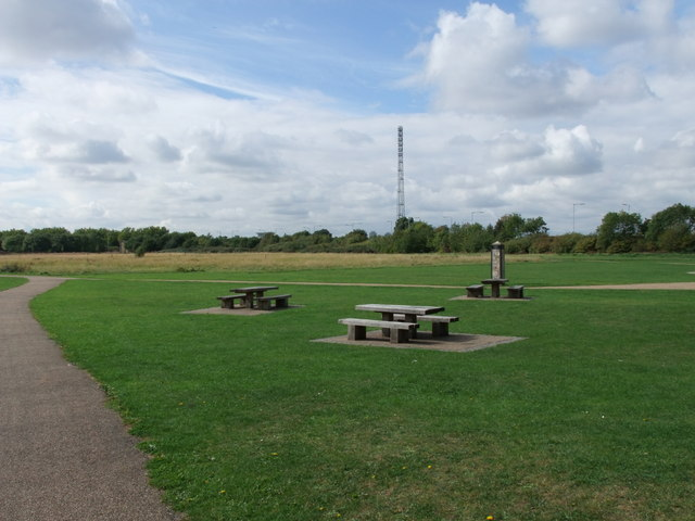Broad Mead Picnic Area Tottenham Marshes Lee Valley