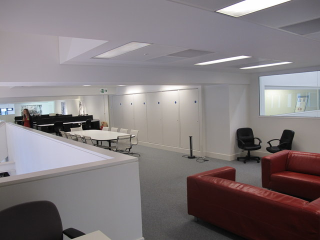 Battleship Building, meetings area