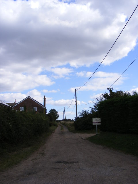 Restricted Byway to the B1069 & Blaxhall Common