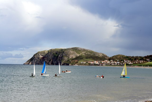 The Little Orme from The Parade, Llandudno
