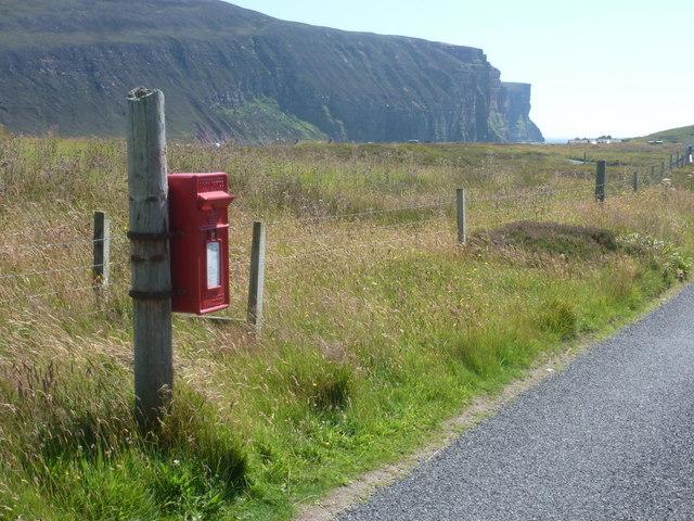 Rackwick: postbox № KW17 64