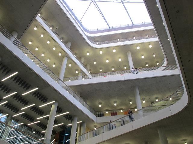 City of Westminster College - atrium and skylight