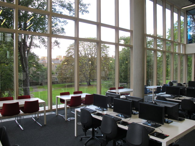 City of Westminster College - computers in learning resource centre