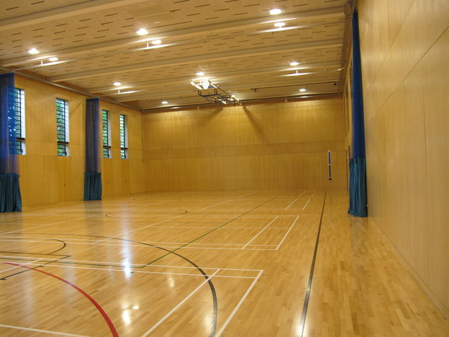 City of Westminster College - sports hall