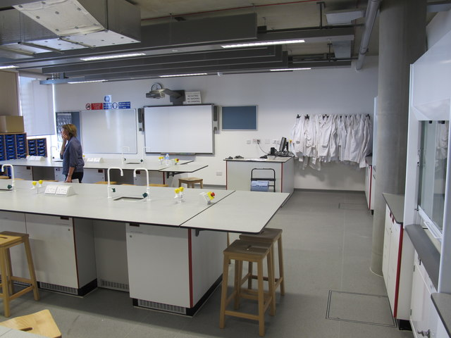 City of Westminster College - science lab