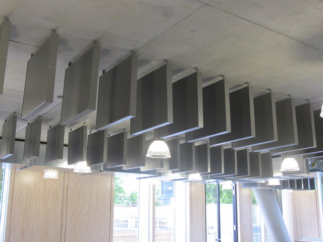 City of Westminster College - acoustic baffles