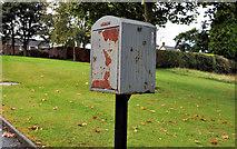 J2764 : Drop box, Lisburn by Albert Bridge