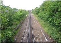TQ4375 : Bexleyheath Line , Eltham by Derek Harper
