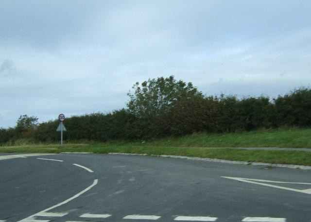 Hawkser Lane towards Whitby by JThomas