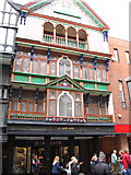 SX9292 : Contrasting architectural styles, Exeter (2) by Derek Voller