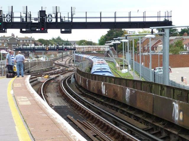 Eastern end, Portsmouth and Southsea station