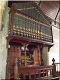 SK8770 : Organ in All Saints' Church, Harby by J.Hannan-Briggs
