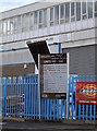 ST5670 : Trading estate information board by Neil Owen