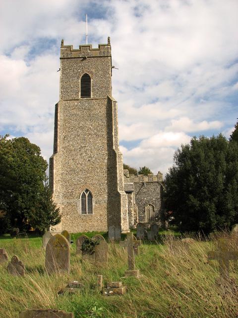 St John the Baptist's church in Metfield