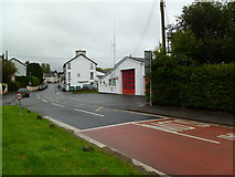 SN8746 : Llanwrtyd Wells Fire & Rescue Station by Mike Faherty