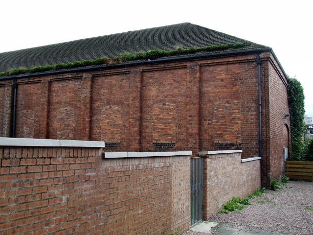 Former drill hall