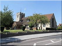 TQ3793 : Chingford Old Church (All Saints) by Richard Dunn