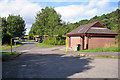 NH6548 : Rest area and toilets, North Kessock by Richard Dorrell