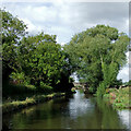SJ9319 : Staffordshire and Worcestershire Canal north of Acton Trussell by Roger  Kidd