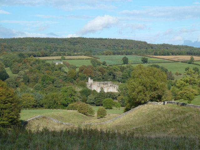 Haddon Fields view to Haddon Hall