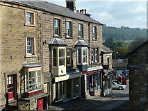 SK2168 : The bottom of North Church Street, Bakewell by Andrew Hill